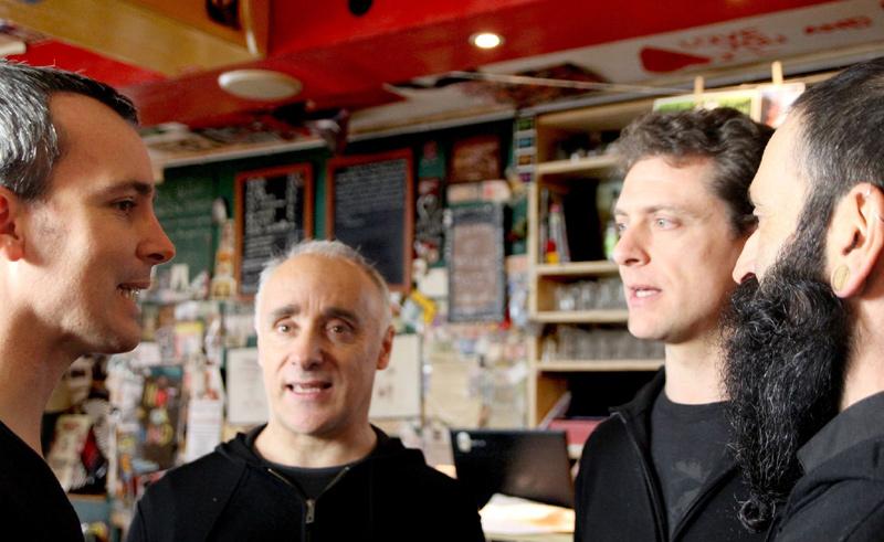 Vox Biggeri singt A-Cappella im KulturCafé in Berlin-Neukölln am Dienstag 20.2. um 17 Uhr